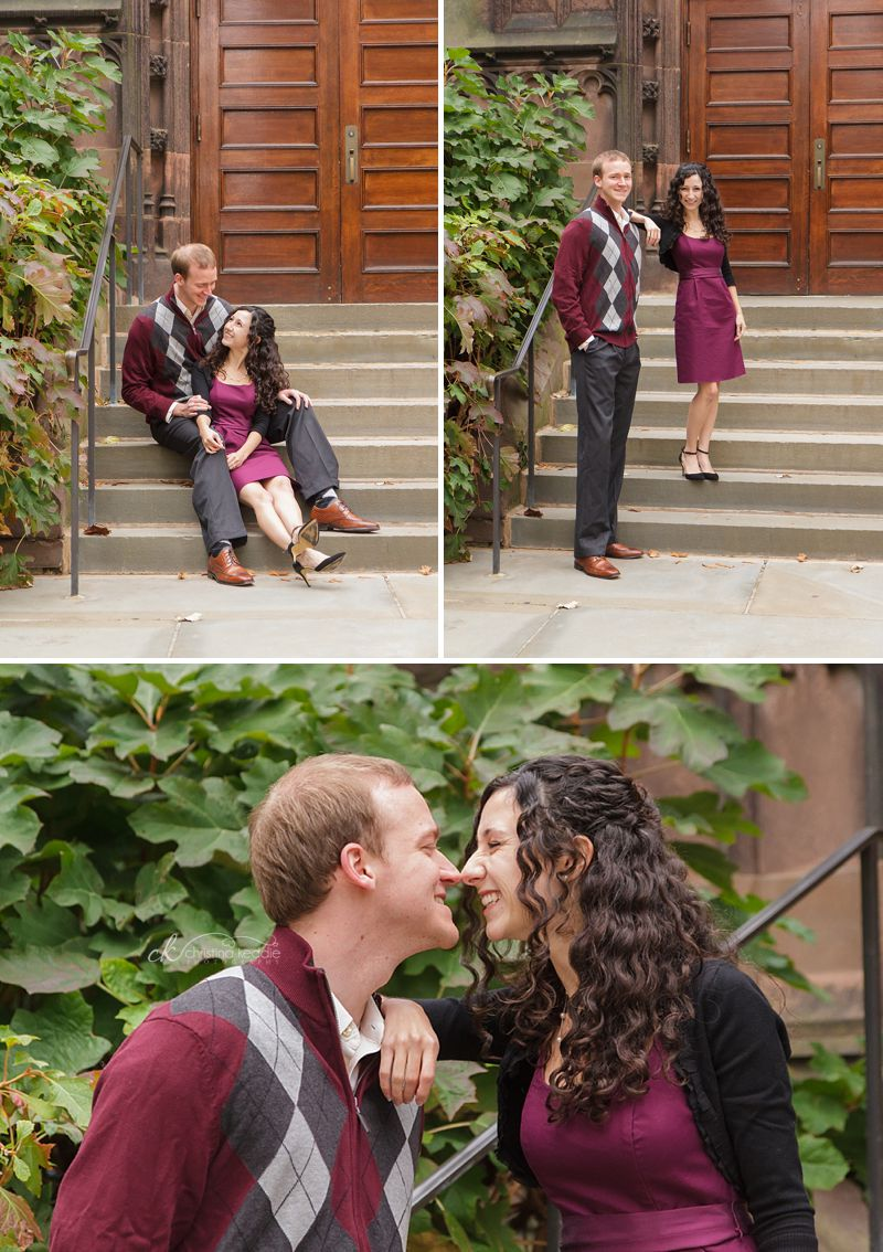 Dana + Richard | Princeton University engagement portraits | Christina Keddie Photography | Princeton NJ wedding photographer