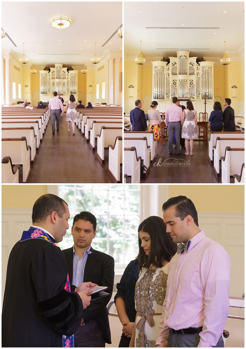 Vow renewal at Princeton Seminary | Christina Keddie Photography | Princeton NJ wedding photographer