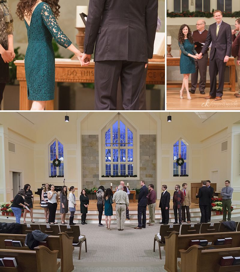 Dana + Richard | Wedding rehearsal at Stone Hill Church | Christina Keddie Photography | Princeton NJ wedding photographer