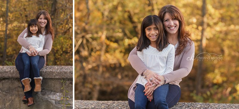 C girls | Sister and mother portraits in late autumn light | Christina Keddie Photography | Princeton NJ children's photographer